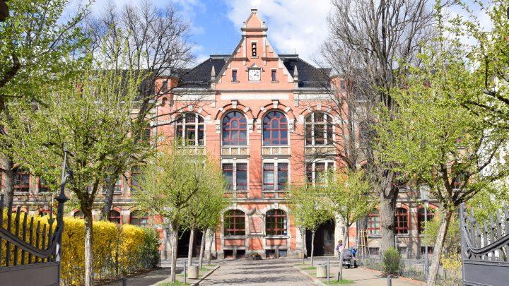 35. Oberschule, Clara-Zetkin-Straße